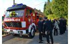 Po uradnem zaključku je sledil ogled nove pridobitve voznega parka PGD Črni Vrh.