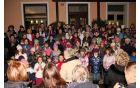 Otroški pevski zbor v Vrojbi. (Foto: Silvan Jogan)
