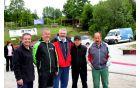 Domžalski župan Toni Dragar s prijatelji