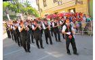 Člani godbe Lukovica so stalni goste povorke ob dnevih narodnih noš