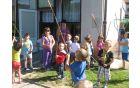 Počitniške taborniške aktivnosti v vrtcu čebelica