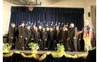 Moški pevski zbor KUD Dobrna pod vodstvom Marine Hrovat Božnik