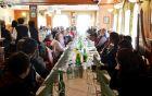 Zbor je potekal na tradicionalni lokaciji - pri Bajcu.