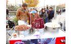 tradicionalna ulična hrana - rdeča pesa in bob