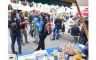 Pestro dogajanje na letošnjem Jestivalu okusov in umetnosti. Foto: Nataša Hvala Ivančič