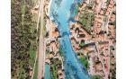 Kanalska obvoznica posega na območje Kanalskih korit. Vir: PISO