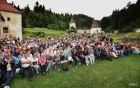 Žičko kartuzijo je napolnilo preko 700 obiskovalcev