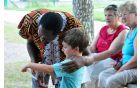 Pravljice iz Afrike z Maxom Zimanijem. Foto: Borut Jurca