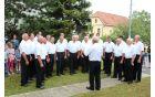 V programu je sodeloval tudi pevski zbor iz Nove Cerkve.