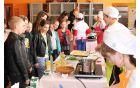 Kolege so obiskali tudi učenci 6. razreda OŠ Kobarid. Foto: Nataša Hvala Ivančič