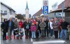 Pred Meškovo ulico v Slovenj Gradcu. Foto: arhiv društva