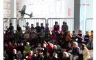 Alan Goljevšček iz Deskel je s svojim pilotiranjem navdušil občinstvo Foto: Borut Jurca
