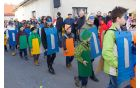 Učenci 2. in 3. razreda OŠ Anton Bezenšek Frankolovo kot barvice in šilčki iz 5. razreda z učiteljicami Lucijo Bevc, Viktorijo Toplak, Jernejo Kompan in Tjašo Kunštek.