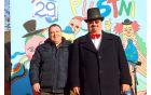 Župan Branko Petre in vodja karnevala Slavko Jezernik