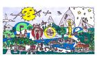 Doodle Maksa Lenarta Černelča. Vir: http://www.google.si/doodle4google/vote.html#g=g1