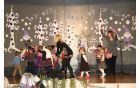 Nastopili so tudi najmlajši vrtca Mavrica enota Nova Cerkev