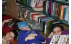 razstavljena fotografija: Knjiga - blazina ali streha