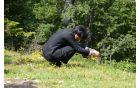 Princ Akishino je bil navdušen nad floro in favno Vogla. Foto: Roman Pekovec