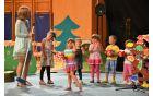 Čudoviti pevski in plesni nastopi so navdušili gledalce.