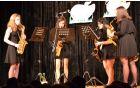 Koncert je popestrila skupina SaxLadies.