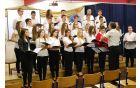 Šolski zbor na koncertu
