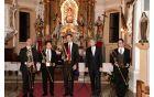 Kvartet pozavn in organist Aart Bergwerff, foto: Drago Juteršek