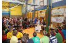 Mladi podjetniki iz OŠ Mislinja so organizirali tombolo.