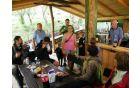 Osrednji prostor šotorišča na Mačjem hribu