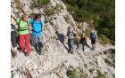 Nazarski planinci na vrhu Begunščice