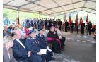 Častna postavitev pod vodstvom poveljnika Boštjana Gorečana.