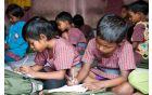 Otroci v Indiji.