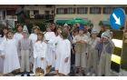 Panjutski zakladi, otroci Podružnične šole Breginj. Foto: Klavdija Kuščer