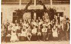 Otvoritev društvenega doma v Podlipi 1910.