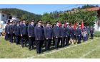 Parade se je udeležilo lepo število gasilk in gasilcev iz sosednjih in okoliških društev.