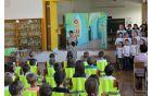Prvošolčke in njihove starše  je pozdravila ter nagovorila ravnateljica Melita Jakelj. Foto: Nataša Hvala Ivančič