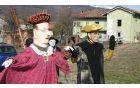 Grofica in grof sta bila na las podobna Gregorju Virantu in Janezu Janši. Foto: Boris Valentinčič