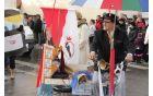Sodelovanje PGD Mokronog na pustnem karnevalu s prispevkom osmih nastopajočih skupin.