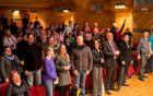 Publika je aktivno sodelovala v sobotnem Grand Prix večeru