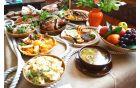 Rimske jedi, ki so jih obiskovalci lahko poskusili
