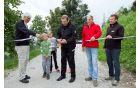 Odprtje rekonstrukcije ceste Hribi - Lebenice