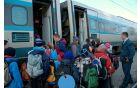 Hura, z vlakom gremo!