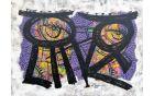 Sova, akril na platnu, 90 x 120 cm, 2013, foto: osebni arhiv Adela Seyouna