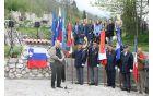 Zbrane je pozdravil župan Občine Kobarid Robert Kavčič.
