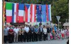 Osrednja otvoritvena slovesnost je potekala na Kobariškem trgu