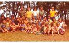 Taborniku v Zlatorogu pri Umagu (1977). Foto arhiv Jožeta Veluščka
