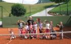 Na tenis igrišču pri Koprivnikovih v Socki