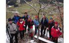 Naša skupina na razgledni točki nad Vinsko goro