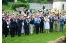 Osrednja svečanost z mnogimi gosti in obiskovalci od blizu in daleč