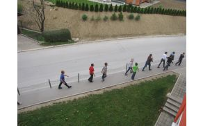 Evakuacija učencev