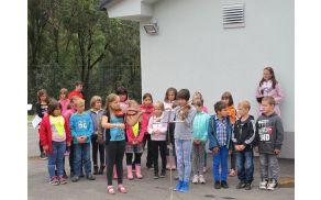 Na slovesnostni so z »eko« programom nastopili učenci OŠ Staneta Žagarja Lipnica.